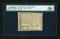 Colonial Notes:Rhode Island, Rhode Island July 2, 1780 $5 PMG About Uncirculated 50 Net....