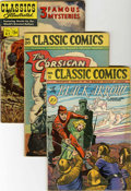 Golden Age (1938-1955):Classics Illustrated, Classics Illustrated Group (Gilberton, 1950s) Condition: Average VGunless otherwise noted.... (Total: 50 Comic Books)