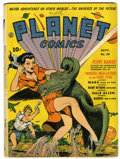 Golden Age (1938-1955):Science Fiction, Planet Comics #20 (Fiction House, 1942) Condition: GD+....