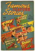 Golden Age (1938-1955):Miscellaneous, Famous Feature Stories #1 (Dell, 1938) Condition: VG/FN....