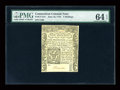 Colonial Notes:Connecticut, Connecticut June 19, 1776 5s PMG Choice Uncirculated 64 EPQ....