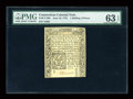 Colonial Notes:Connecticut, Connecticut June 19, 1776 1s/6d PMG Choice Uncirculated 63 EPQ....