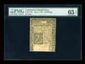 Colonial Notes:Connecticut, Connecticut June 1, 1775 20s PMG Gem Uncirculated 65 EPQ....