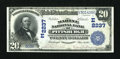 National Bank Notes:Pennsylvania, Pittsburgh, PA - $20 1902 Plain Back Fr. 657 The Marine NB Ch. #(E)2237. ...