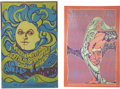 "Music Memorabilia:Posters, Fillmore Rock Concert Poster, Group of 2 (Bill Graham, 1967) 13.5""x 20"" to 14"" x 21.25"".... (Total: 2 Items)"
