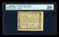 Colonial Notes:Virginia, Virginia May 1, 1780 $4 PMG Choice About Unc 58 EPQ....