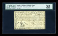 Colonial Notes:South Carolina, South Carolina February 8, 1779 $80 PMG Very Fine 25....