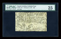 Colonial Notes:South Carolina, South Carolina February 8, 1779 $50 PMG Very Fine 25....