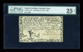 Colonial Notes:South Carolina, South Carolina February 8, 1779 $40 PMG Very Fine 25 NET....
