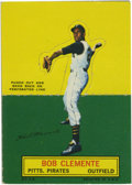 Baseball Cards:Singles (1960-1969), 1964 Topps Stand-Ups Roberto Clemente. First die-cut cards producedsince the All-Star sets of 1951, this one features the i...