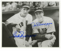 Autographs:Photos, Ted Williams & Joe DiMaggio Signed Photograph. The embodimentof the Red Sox/Yankees rivalry of the 1940's is found in this...