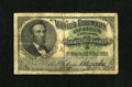 Miscellaneous:Other, World's Columbian Exposition Lincoln Admittance Ticket 1893 Very Good. This ticket was folded into fourths and carried as a ...