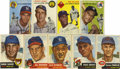 Baseball Cards:Lots, 1953 and 1954 Topps Baseball Group Lot of 64. Nice vintage Topps baseball group features 51 cards from the 1953 issue and 13...