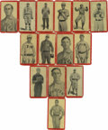 Baseball Cards:Lots, 1910 Old Mill Cigarettes Baseball Group Lot of 62. Fantastic groupfrom the 640-card minor league tobacco issue (ACC designa...