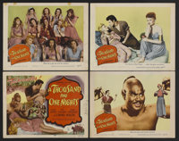 "A Thousand and One Nights (Columbia, 1945). Title Lobby Card and Lobby Cards (3) (11"" X 14""). Adventure. Starr..."