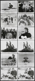 """Movie Posters:Rock and Roll, Help! (United Artists, 1965). Stills (11) (8"""" X 10""""). Musical Comedy. Starring The Beatles, Leo McKern, Eleanor Bron, Victor... (Total: 12 Item)"""