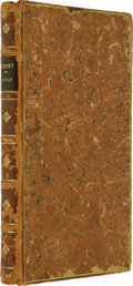 Books:Signed Editions, Edmond Hoyle. A Short Treatise on the Game of Whist. London:T. Osborne, et al., 1746....
