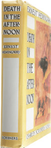 Books:First Editions, Ernest Hemingway. Death in the Afternoon....
