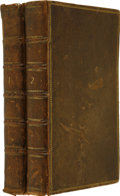 Books:Non-American Editions, John Locke. An Essay Concerning Human Understanding. InFour Books. London: S. Birt, et al., 1753. . ...(Total: 2 Items)