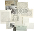 Autographs:U.S. Presidents, Jack Ruby Collection of Drawings and Documents.... (Total: 6 Items)