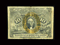 Fractional Currency:Second Issue, Fr. 1244 Milton 2R10.1d 10¢ Second Issue Inverted Back Fine-Very Fine....