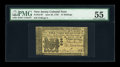 Colonial Notes:New Jersey, New Jersey June 22, 1756 15s PMG About Uncirculated 55....