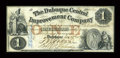Obsoletes By State:Iowa, Dubuque, IA- The Dubuque Central Improvement Company $1 Dec. 28, 1857 Oakes 48-1a. ...