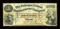Obsoletes By State:Iowa, Dubuque, IA- The Dubuque Central Improvement Company $3 Dec. 23, 1857 Oakes 48-2a. ...