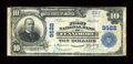 National Bank Notes:Wisconsin, Fennimore, WI - $10 1902 Plain Back Fr. 626 The First NB Ch. # 9522. ...
