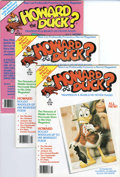 Magazines:Humor, Howard the Duck Magazine #1 and 2 Multiple Copies Group (Marvel,1979).... (Total: 10 Comic Books)