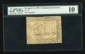Colonial Notes:Continental Congress Issues, Continental Currency April 11, 1778 $5 PMG Very Good 10....
