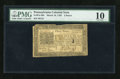Colonial Notes:Pennsylvania, Pennsylvania March 16, 1785 3d PMG Very Good 10....