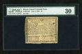 Colonial Notes:Rhode Island, Rhode Island July 2, 1780 $4 PMG Very Fine 30....