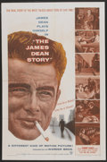 """Movie Posters:Documentary, The James Dean Story (Warner Brothers, 1957). One Sheet (27"""" X 41""""). Documentary...."""