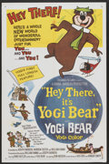 "Movie Posters:Animated, Hey There, It's Yogi Bear (Columbia, 1964). One Sheet (27"" X 41"").Animated...."