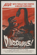 "Movie Posters:Science Fiction, Dinosaurus! (Universal, 1960). One Sheet (27"" X 41""). ScienceFiction...."