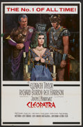 "Movie Posters:Historical Drama, Cleopatra (20th Century Fox, 1963). One Sheet (27"" X 41.5"").Historical Drama...."