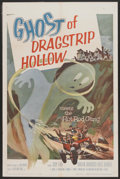 "Movie Posters:Cult Classic, Ghost of Dragstrip Hollow (American International, 1959). One Sheet(27"" X 41""). Cult Classic...."