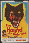 "Movie Posters:Mystery, The Hound of the Baskervilles (United Artists, 1959). One Sheet(27"" X 41""). Mystery...."