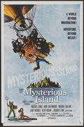 """Movie Posters:Science Fiction, Mysterious Island (Columbia, 1961). One Sheet (27"""" X 41""""). ScienceFiction...."""
