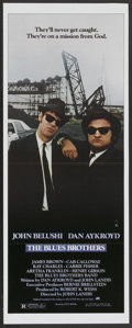 """Movie Posters:Comedy, The Blues Brothers (Universal, 1980). Insert (14"""" X 36"""").Comedy...."""