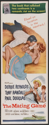 "The Mating Game (MGM, 1959). Insert (14"" X 36""). Comedy"