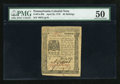Colonial Notes:Pennsylvania, Pennsylvania April 25, 1776 20s PMG About Uncirculated 50....