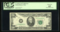 Error Notes:Obstruction Errors, Fr. 2072-G $20 1977 Federal Reserve Note. PCGS Choice New 63. ...