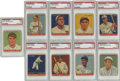 Baseball Cards:Lots, 1933 Goudey PSA Graded Group Lot of 9.... (Total: 9 cards)