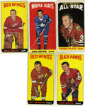 Hockey Cards:Lots, 1964-65 Topps Hockey Collection (68).... (Total: 68 cards)