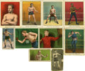 "Boxing Cards:General, Circa 1910 Vintage ""E"" Caramel and ""T"" Tobacco Boxing CardCollection (107). ... (Total: 107 cards)"