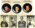 Hockey Cards:Lots, 1960s-1970s O-Pee-Chee Hockey Insert Cards Collection (57). ...(Total: 57 cards)