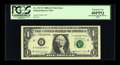 Error Notes:Major Errors, Fr. 1917-F $1 1988A Federal Reserve Web Note. Mismatched SuffixF-*/F-L PCGS Extremely Fine 40PPQ.. ...