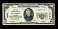 National Bank Notes:Colorado, Gunnison, CO - $20 1929 Ty. 1 The First NB Ch. # 2686. ...